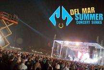 Del Mar Racetrack Concert Series 13' / The Del Mar Summer Concert Series highlights / by Del Mar Racetrack