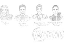 The Avengers / by Penny Kearney