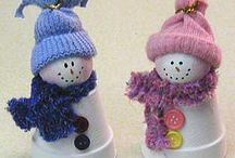 Christmas crafts for grandkids / by Donna Adams