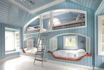 Kids Rooms / by Kristy Swain