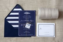 Invitations / by Tammy of Sincerely Yours Events, Inc.