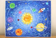 Kindergarten Theme - Space / by Nikki