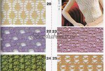 puntos crochet / by clara martinez
