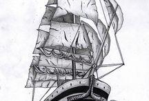 Pirate/ Sailor Tats / by Keelia Cobb