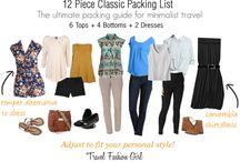 Style - what to pack / by Cammie Hackney