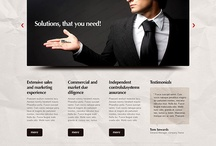 Implement all your creative ideas in reality with the help of these templates! / by FlashMint - Flash Website Templates