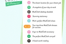 Modcloth's Make It Work Contest / by Olivia Miller