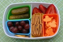 kids packed lunch / by Stephanie Johnson