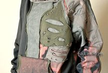 clothing - upcycled sweat shirts and Tshirts / by Ingrid Dijkers
