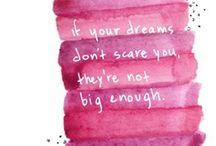 Words that INSPIRE / by Fernanda M. Durán
