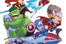 Superheroes / by Francis Burnett Jr.