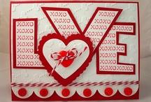 valentine cards / by Peggie Barker