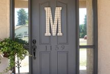 Ideas for Front door and porch / by Candi Scott Davis