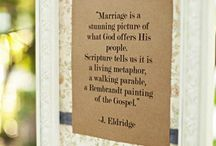 MARRIAGE / by Sybil Brun @ shelivesfree.com