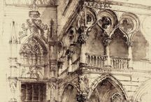 Architectural drawings / by Donna Jarvela