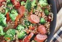 2 Dinners - Sausage/Pork / by Cassandra Ann