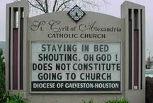 Church Signs / by Holly Kile