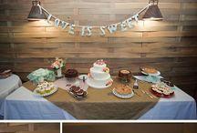table settings/weddings / by Kim F
