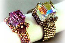 Beaded Ring Patterns! / by Bead-Patterns (Sova-Enterprises.com)