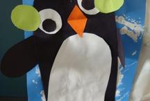 January Activities  /  Arctic Animals, Mittens, Snow & Snowmen / by Samantha