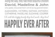 Grandparents 60th anniversary! / by Tara Meinhold