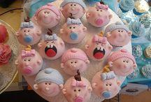 Baby Shower Cupcakes / by Patricia Estrada