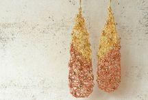 CROCHET WIRE. Earrings / by Jolezz Sweet