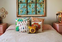 BEDROOM IDEAS / by Sybil Brun @ shelivesfree.com