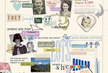 Scrapbook Inspiration / by Miss Pippi