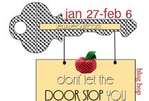 Door STOPPERS--- blog hop for door & draft stoppers / Carla ( Creatin the Sticks) is also cheering this door stopper…..think PIN CUSHIONS ON STEROIDS…and you  have a wonderful blog hop in 2014….Don't let us STOP you from participating.. / by Mdm Samm ...