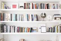 Home // Bookshelves & Nooks / by Kimber Pogue