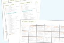Menu planning / by Laura {Inspiration for Moms}