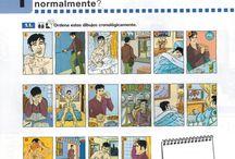 La rutina diaria / by Brianne Rusk