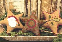 ~Primitive Christmas Ideas~ / ~These are images of some wonderful ideas to create a primitive Christmas~ / by ~Yesterday Once More~