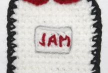 Crocheted Pot Holders/Dish Rags / by Aura Lipinski