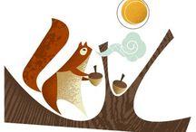 Squirrels / Cuteness.  / by Jennifer Cisney