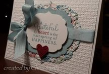 Stampin' up fun / by Angie Hall