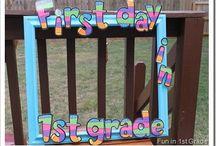 First days of school / by April Alvarado