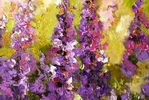 flower paintings / by Terri Dawson
