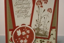 Trust God Card Ideas / by Laurie Graham: Avon Rep/Stampin' Up! Demo