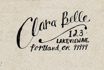 Envelopes / by Evana Willis