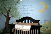 Nursery ideas! :)) / by Tiffany DePute