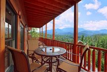 1-Bedroom Cabins in Gatlinburg / Luxury getaway 1-bedroom rental cabins in Gatlinburg, TN, in the Smoky Mountains. Most can sleep 4-10 people. 2 baths, hot tub, games, mountain views. Call us 24/7 at 855-95-SMOKY, let us match the cabin to your needs. http://www.CabinsOfTheSmokyMountains.com  / by Cabins Of The Smoky Mountains