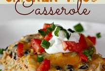 Casseroles / by Amber Rowden-Whitaker