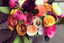 May Day/ paper flowers / by Katie Marie