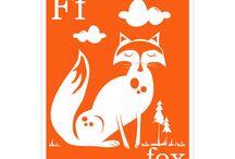 Fox Artwork / by Caitlyn McCoy