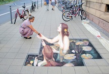3D art and street art / by N. Levesque