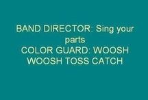 Color guard junk / by Disney Princess