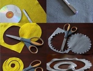 Felt and Cloth Headbands / by Danielle Feathers