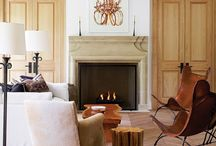 Fireplaces / by Tuscan Blue Design
